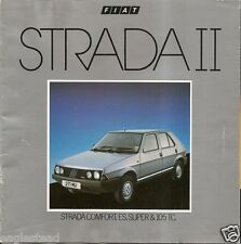 Auto Brochure - Fiat - Strada II - 1983 - 6/83 (AB199)