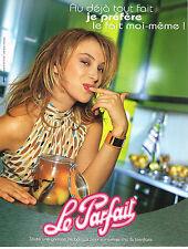 PUBLICITE ADVERTISING  2003   LE PARFAIT  bocaux pour conserves