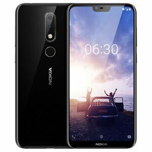 """Original Nokia X6(Nokia 6.1 Plus)5.8"""" 4+64GB ROM 4G Dual SIM Unlocked SmartPhone"""