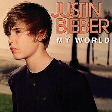 My World by Justin Bieber (CD, Nov-2009, Island (Label))