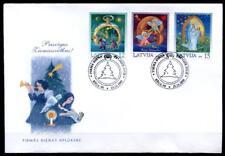 Weihnachten. FDC. Lettland 2000