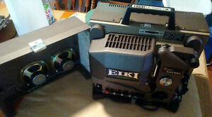 EIKI EX-3500S-1 16MM XENON PROJECTOR with EXCELLENT COVER + KEYS