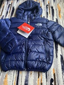 The North Face Summit Series Puffer Light Jacket Youth kids S M Navy Blue