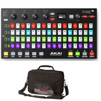 Akai Fire FL Studio Controller Fruity Edition Software + Gator Road Bag Case