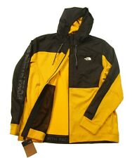 The North Face Men's Yellow Essential Fleece Full Zip Hooded Jacket