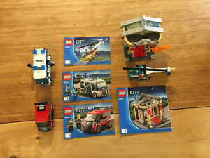 Lego City Town Set 60008 Museum Break-in (2013).