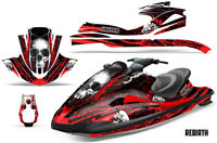 SIKSPAK Yamaha Wave Runner Jet Ski Decal Wrap Sticker Graphic Kit 2002-2005 RB R
