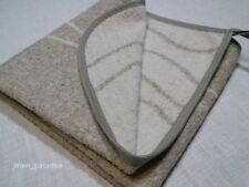 Linen Flax FACE TOWEL TERRY Washcloth Sauna Mat Natural Antimicrobial