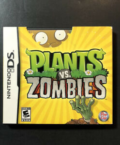 Plants vs Zombies (DS) USED