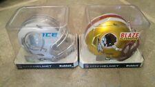 Washington Redskins Ice and Blaze Mini Helmets