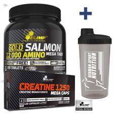 Olimp Anabolic Amino 9000 Mega Tabs 1800mg 300 BCAA Arginin Amino Acid Tablets Shaker 700 Ml