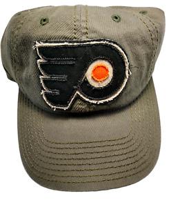 Philadelphia Flyers Men's Olive Green Reebok Corduroy Adjustable Hat