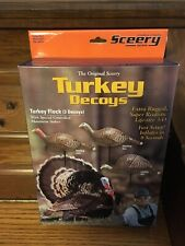 Sceery Turkey Inflatable Decoys Flock (3 Decoys) 1st Generation    FREE SHIPPING