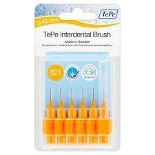 TePe Interdental Brush Orange 0.45mm 6 Brushes