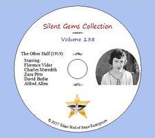 "DVD ""The Other Half"" (1919) Florence Vidor, Zasu Pitts, Classic Silent Drama"