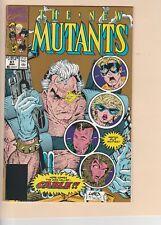 NEW MUTANTS #87! 2nd Print. KEY Never Read! Nice copy!