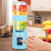 420ML Electric Juicer Blender USB Rechargeable Fruit Mixer Extractor 25000RP US