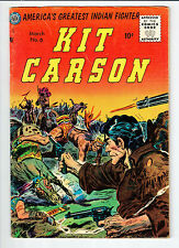 Avon KIT CARSON #6 March 1955 vintage comic VG