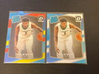 2017-18 Optic MALIK MONK Rated Rookie Card Red Yellow Blue&Base HORNETS 📈📈🔥++