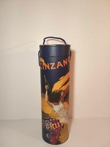 2003 Tricoastal Design Italian Art Cinzano Wine Bottle Carrier Gift Box