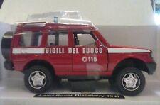 NEW RAY 1:32 AUTO DIE CAST LAND ROVER DISCOVERY 1997 VIGILI DEL FUOCO ART 55193