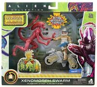 Alien Collection Red Xenomorph Swarm Action Figure Toy Set EXCLUSIVE NEW