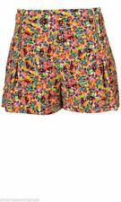 New Topshop Tropical Floral Print Shorts Size 6