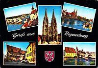 Gruß aus Regensburg , Ansichtskarte , 1976 gelaufen