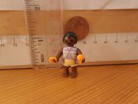 9621 Ethnic / Black Baby Figure & Tiny Toys - Playmobil Spares Dolls House