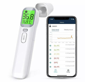 Infrared Digital Non-Contact Forehead Ear Thermometers Adult Baby Temperature UK