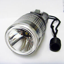 Scuba Diving Flashlight 1W LED Dive 50m Torch Strobe Light 50 Lumen 2xO-Ring
