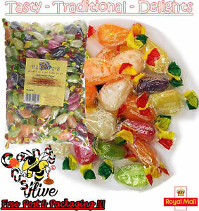1 - 1000 Jargonelle Pear Drops Crawford & Tilleys Wrapped Pick & Mix Sweets