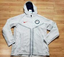 NWT Nike Men's United States Paralympic Team Zip Up Jacket Size Medium USA Gray
