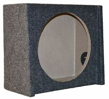 """FORD SINGLE 10"""" SUBWOOFER ENCLOSURE UNDER SEAT SHALLOW MOUNT DOWNFIRE BOX"""