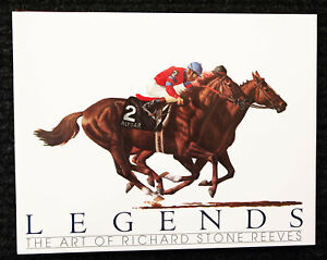 'Legends: The Art of Richard Stone Reeves' 1st Edition 1989