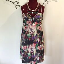 PORTMANS Summer Dress Size 10. Party, Casual. Floral. Great Condition