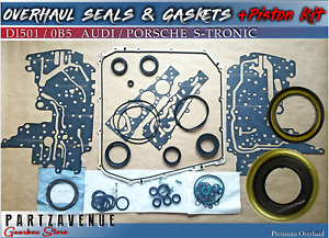 DL501 0B5,OVERHAUL WITH PISTON KIT AUDI Q5,A4,A5,A7,A6,DUAL,SEALS AND GASKET