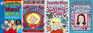Jacqueline Wilson 4 Book Bundle - Fully Tracked Free Shipping