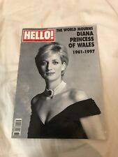 Hello Magazine Number 474 Princess Diana Death Edition