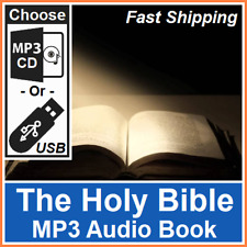 The Holy Bible Old & New Testaments (English Kings James Version) MP3 Audio Book