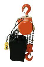 Electric Chain Hoist 6000lb 3 Ton Electric Crane Hoist Single Phase 25ft Chain