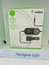 BELKIN TuneCast Auto Universal Plus Car Stereo Transmitter F8Z439-P