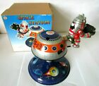 QSH Space Station Clockwork Tinplate Toy In Box - 1990`s Collectable