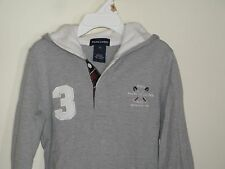 Ralph Lauren Polo Girls Hooded Rugby Dress Gray size Small Worn 1x!