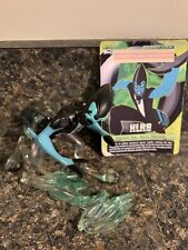 """Cartoon Network BEN 10 XLR8 4"""" FIGURE With Speed Wave & Trading Card; Rare"""