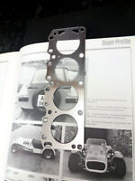 Ford X Flow Head Gasket bookmark present gift - Escort Cortina Anglia Westfield