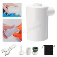 Portable Air Pump USB Unrechargeable For Inflatables Quick Inflate Deflate