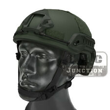 Emerson Tactical ACH MICH 2001 TC-2001 Helmet Advanced w/ NVG Shroud + Side Rail