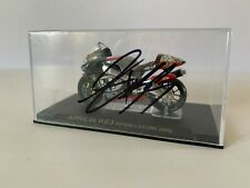 Regis Laconi Hand Signed Aprilia 1:24 Model Diecast - MotoGP Autograph.