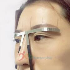 Permanent Eyebrow Stencil Microblading Measure Makeup Tattoo Balance Ruler Tool